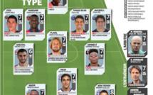 Paris SG, Lyon, Bordeaux ... : ils sont dans le onze-type de la Ligue 1
