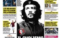 """Diego Simeone en mode """"Comandante Che Guevara"""" en Une de la Gazzetta dello Sport"""