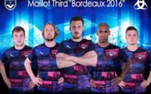 Bordeaux a dévoilé son maillot third saison 2016/2017