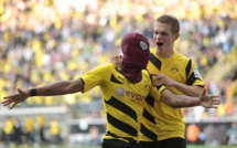 Aubameyang élu joueur de l'année en Bundesliga