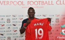 OFFICIEL : Sadio Mané rejoint Liverpool