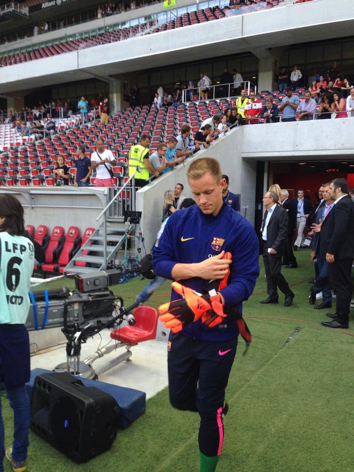 Maxime Photo Nice Barça 3
