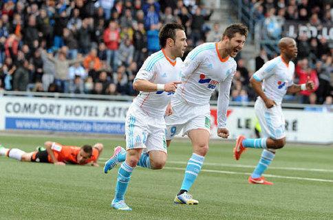 Marseille presque assuré d'être en Ligue des Champions