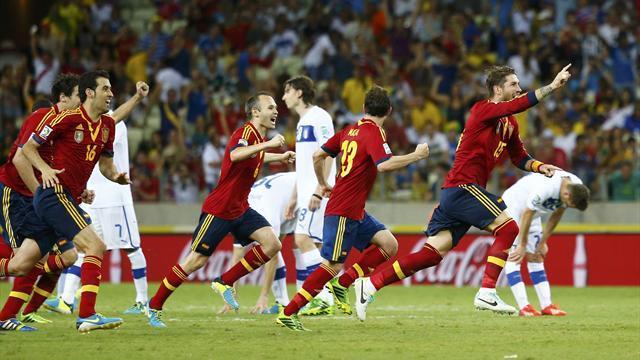 Résumé : Espagne 0-0 Italie (7-6 tab)