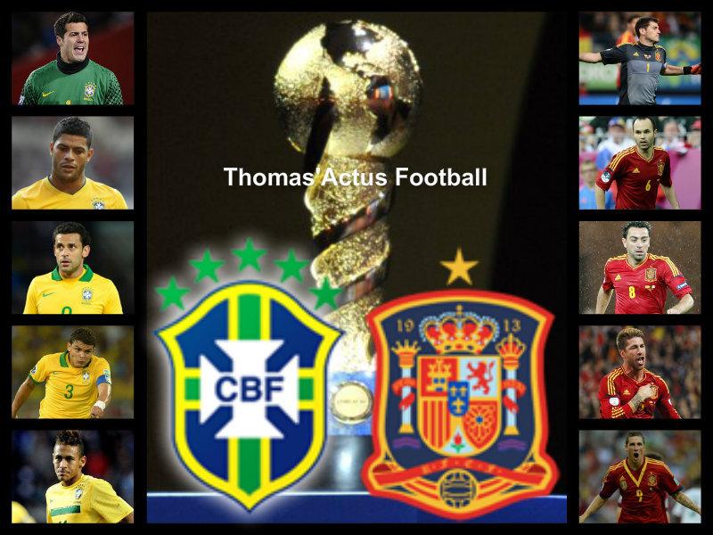Brésil-Espagne, une finale de rêve [Présentation de la finale]